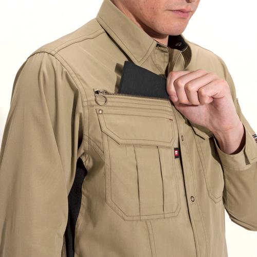 レベル収納ポケット(右)