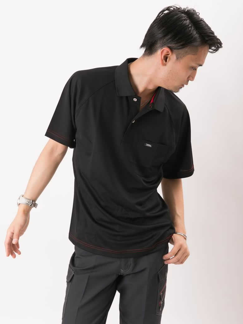 【TORAICHI(寅壱)】【春夏作業服】半袖ポロシャツ 5959-621