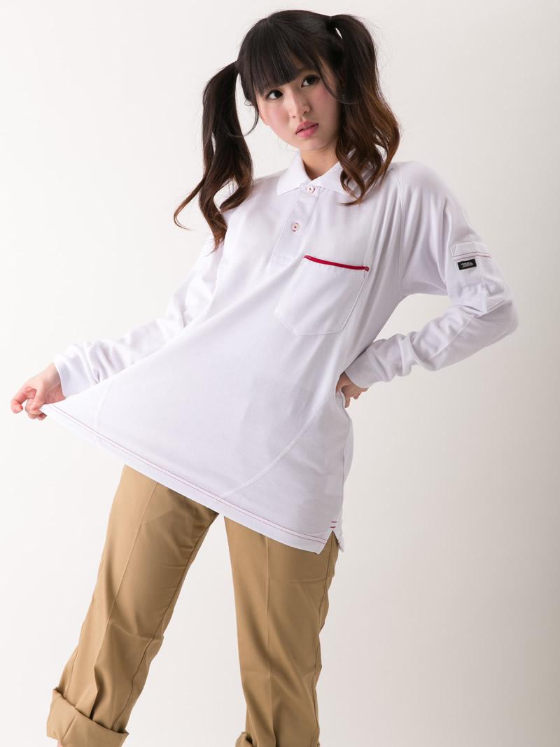 【寅壱】【春夏作業服】ミニ衿オープンシャツ1011-186