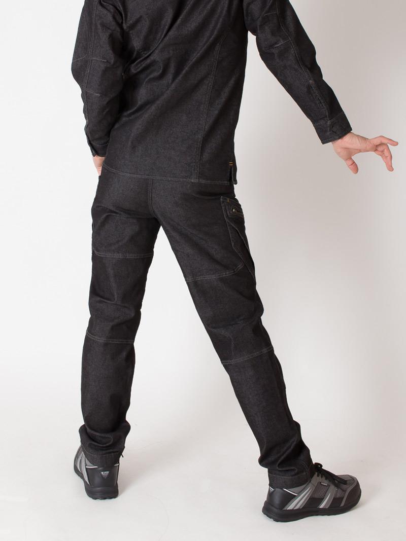【TSデザイン】【秋冬作業服】メンズカーゴパンツ 5114  モデル画像2