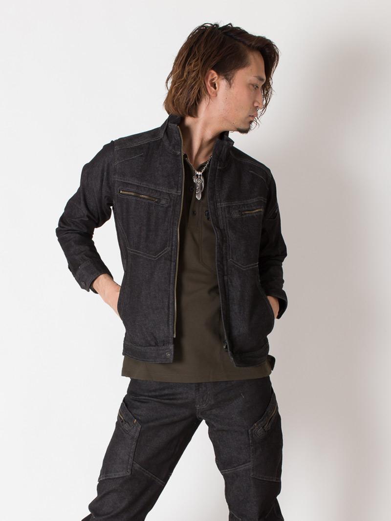 【TSデザイン】 【秋冬作業服】ジャケット 5116  モデル画像1
