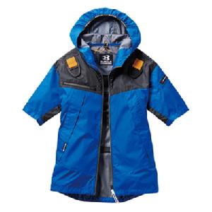 エアークラフトパーカー半袖ジャケット AC1096