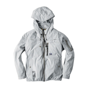 超消臭綿100%A.S長袖フーディッドジャケット#10080