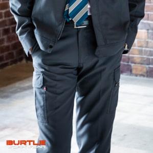 【BURTLE(バートル)秋冬年中作業服】カーゴパンツ 7082