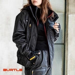 【BURTLE(バートル)】【秋冬年中作業服】防寒ブルゾン(大型フード付) 7210