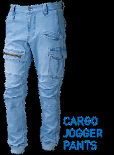 デニムカーゴジョガーパンツ 8970-235
